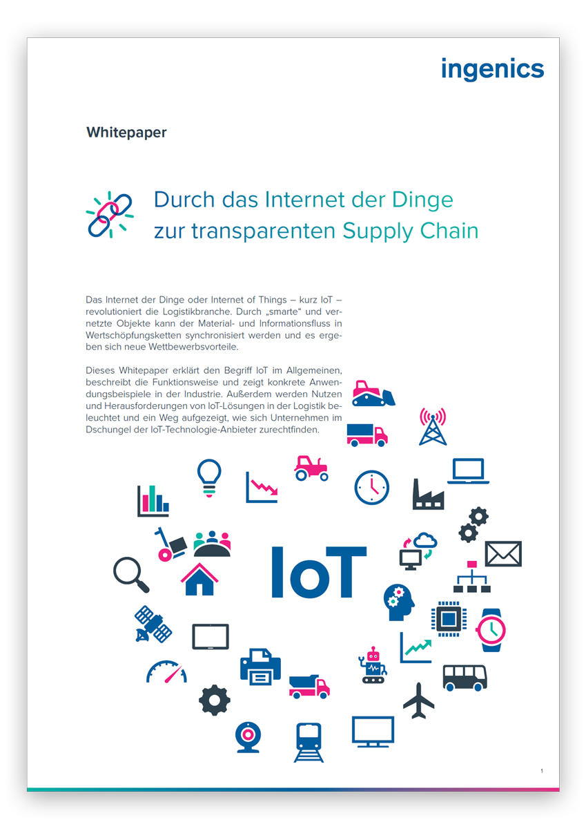 Whitepaper IoT Canvas Logistik 4.0